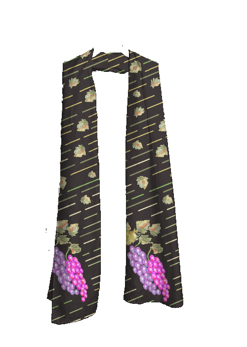 Scarf - Grapes